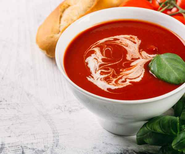 Photo of - Creamy Double Tomato Basil Soup