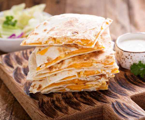 Photo of - Quesadillas au Fromage de Chèvre