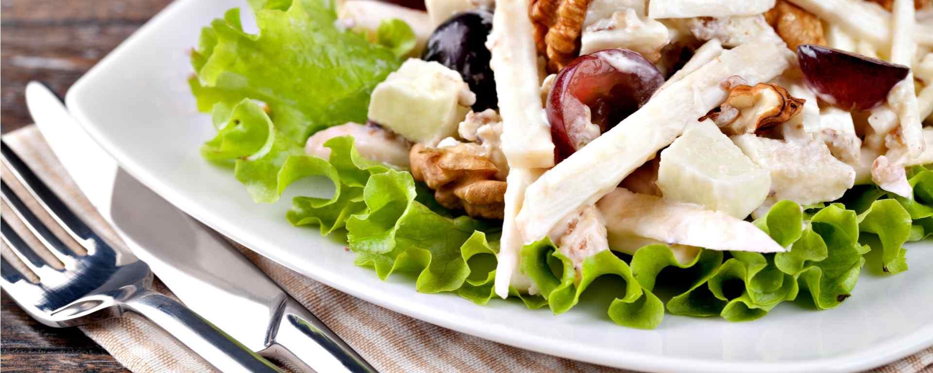 Photo for - Nectarine Waldorf Salad