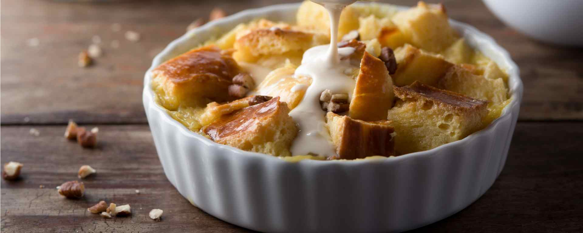 Photo for - New Brunswick Bread Pudding with Cream Sauce