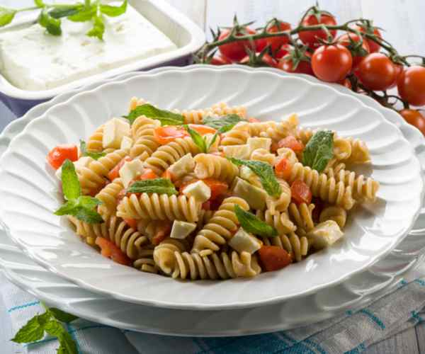 Photo of - Raspberry Pesto Pasta Salad