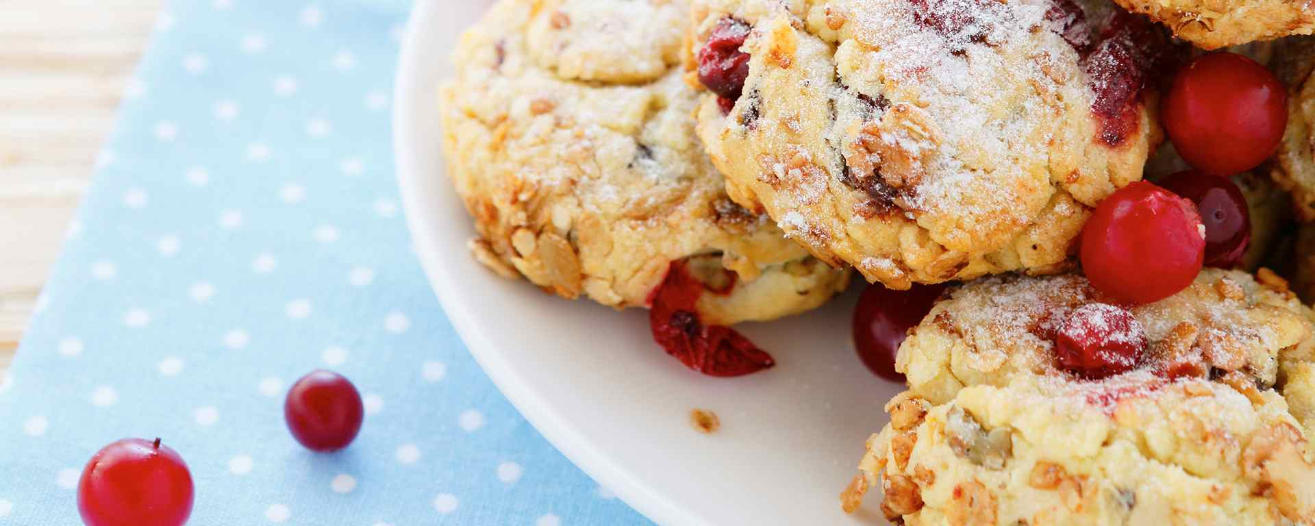 Photo for - White Chocolate Cranberry Shortbread