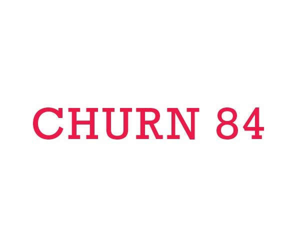 Logo for - Churn 84