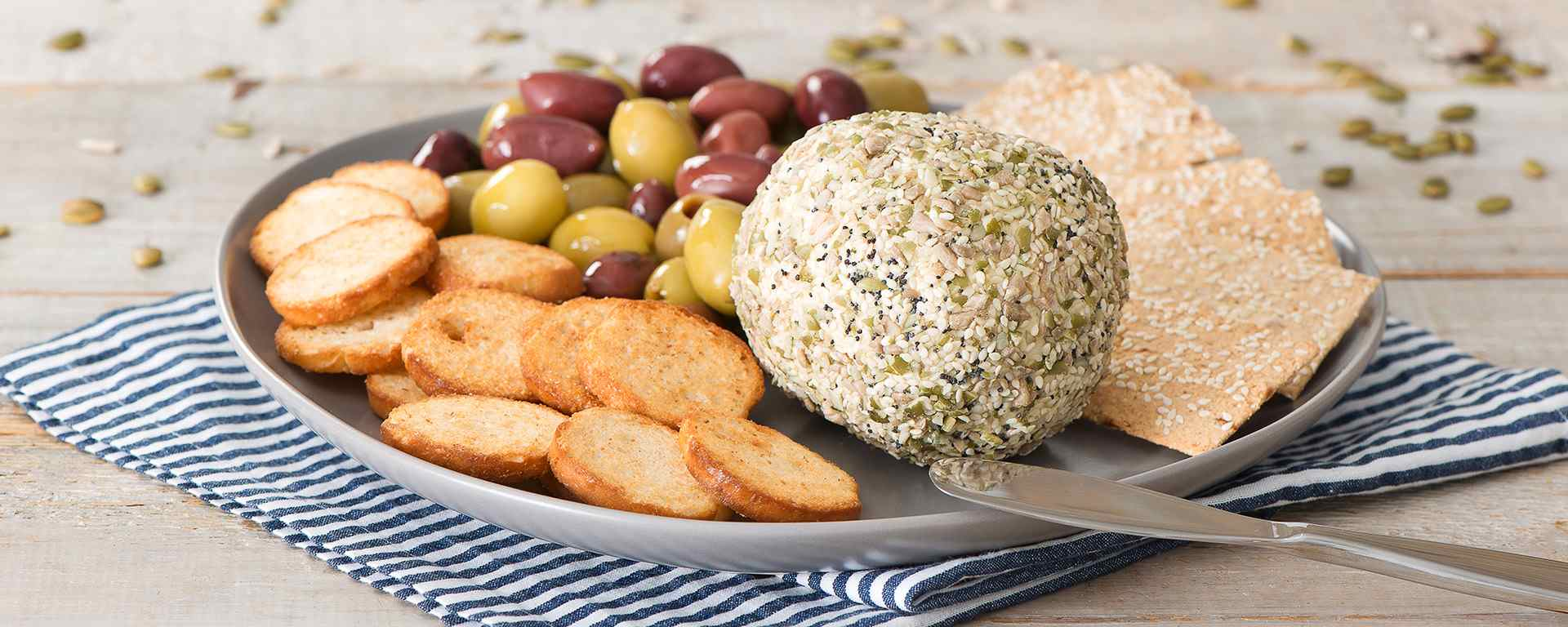 Photo for - Seed-Coated Cheese Ball