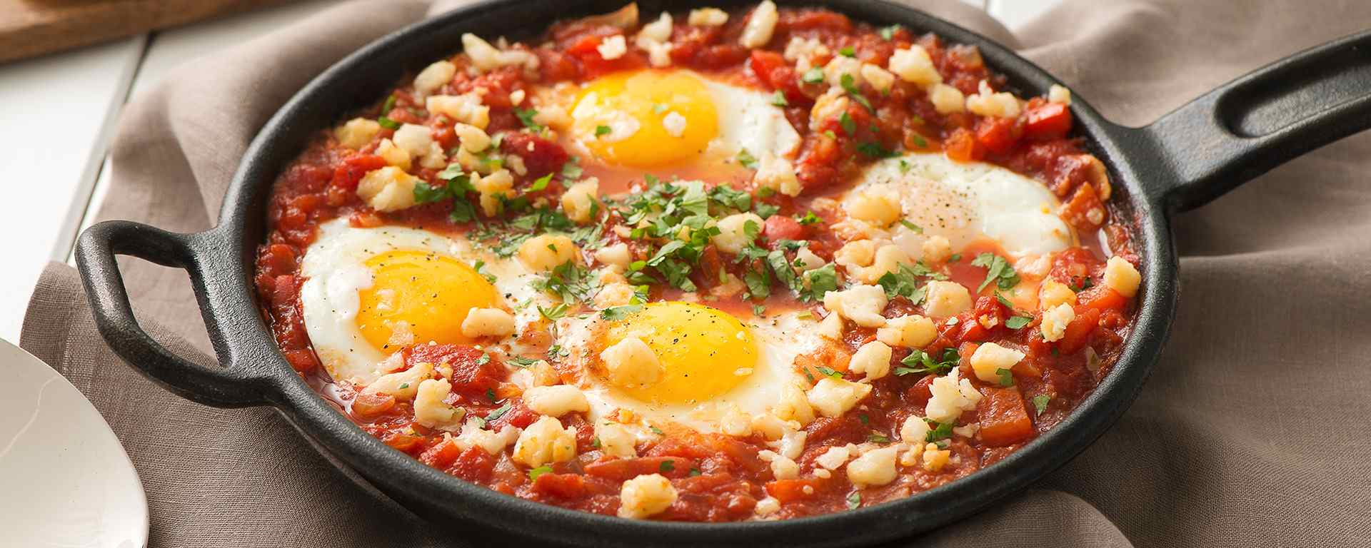 Photo for - Shakshuka with Goat Cheese