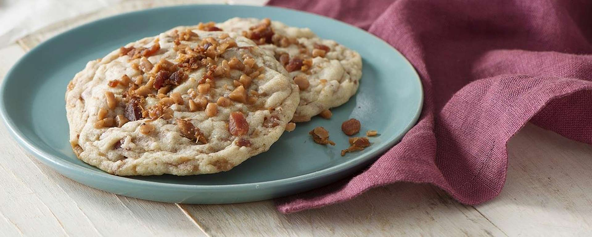Photo for - Chewy Maple Bacon Cookies
