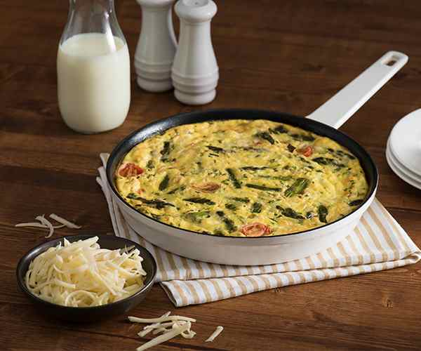 Photo of - Spring Vegetable Frittata