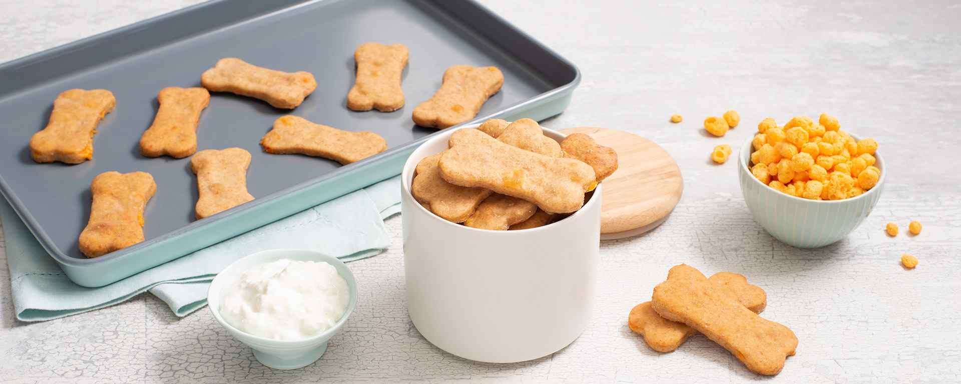 Photo for - Biscuits pour chiens au fromage et beurre d'arachide