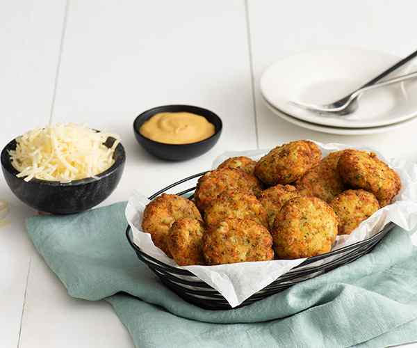 Photo of - Cheesy Veggie Nuggets