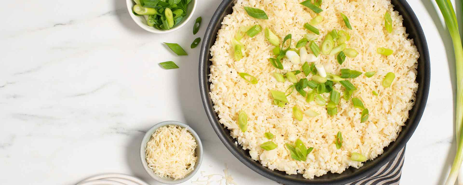 Photo for - Garlic and Pepper Cauliflower Rice