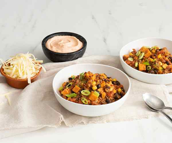 Photo of - Quinoa and Sweet Potato Chili