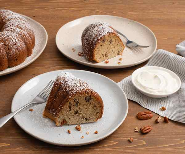 Photo of - Sour Cream Banana Coffee Cake