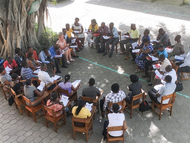 Photo for - Building confidence and leadership in Haitian teachers