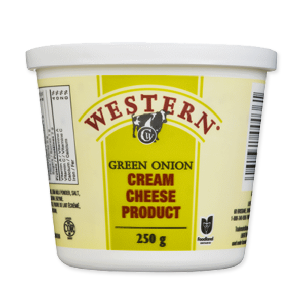 Photo of - Western Cream Cheese Green Onion 24% MF