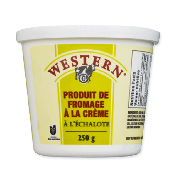 Photo of - Western Fromage a la Crème Echalote 24% MG