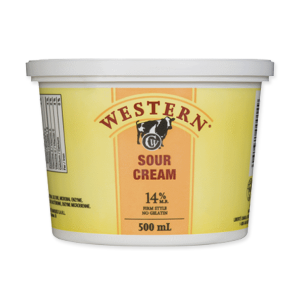 Photo of - Western Sour Cream 14% MF No Gelatin