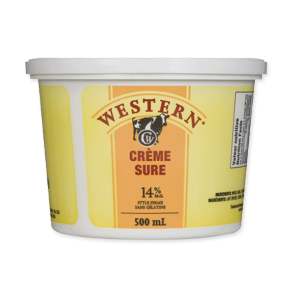 Photo of - Western Crème Sure 14% MG Sans Gelatine