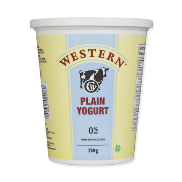 Photo of - Western Yogurt Plain 0% MF