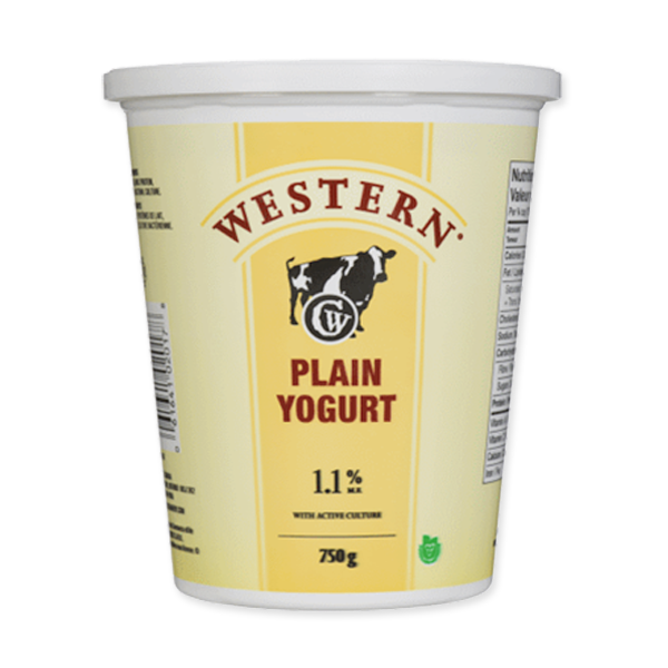 Photo of - Western Yogurt Plain 1.1% MF