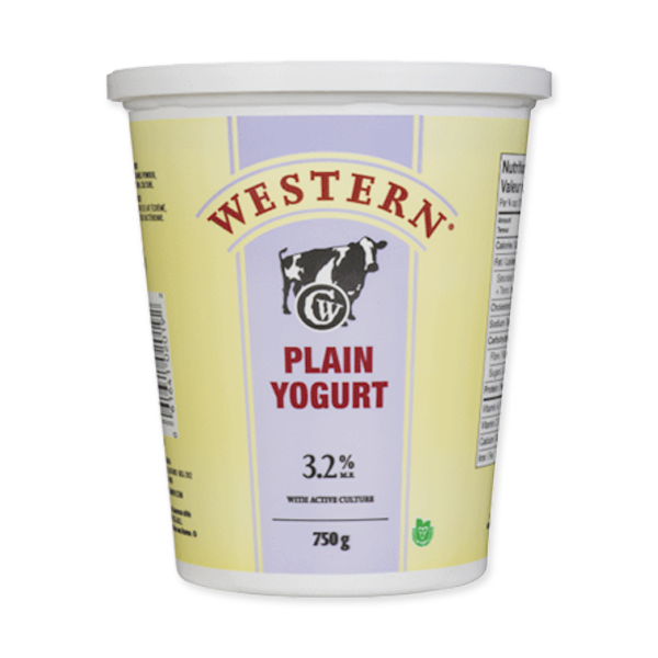 Photo of - Western Yogurt Plain 3.2% MF