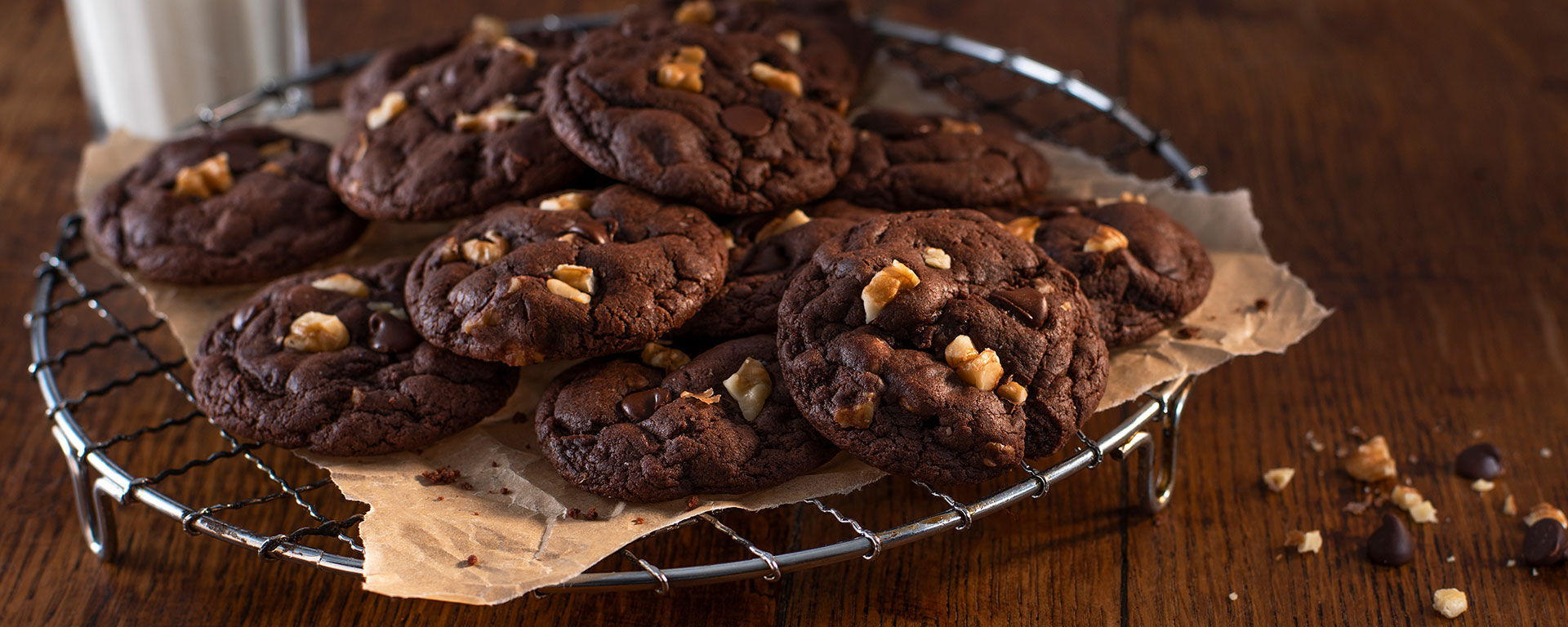 Photo for - Sour Cream Brownie Cookies