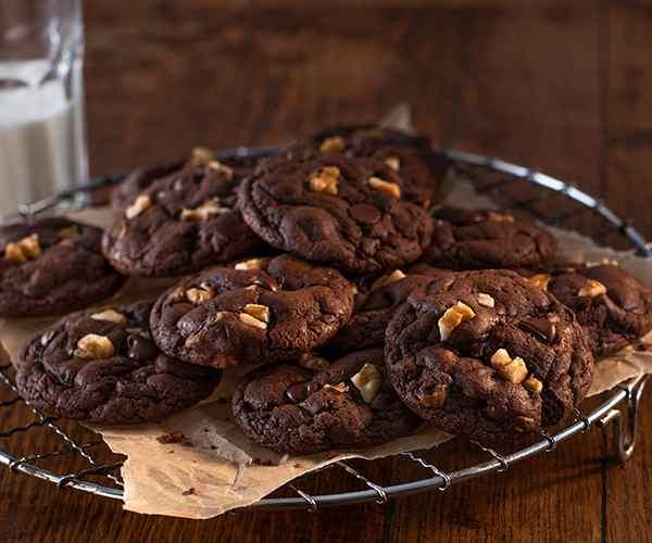 Photo of - Brownies à la crème sure