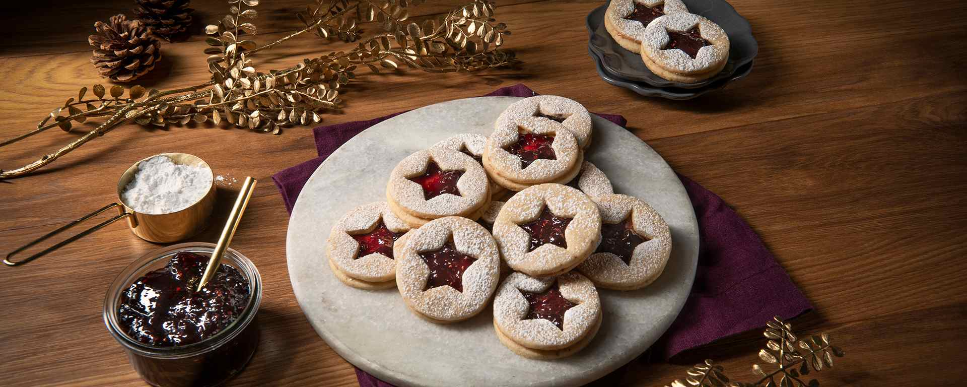 Photo for - Linzer Cookies