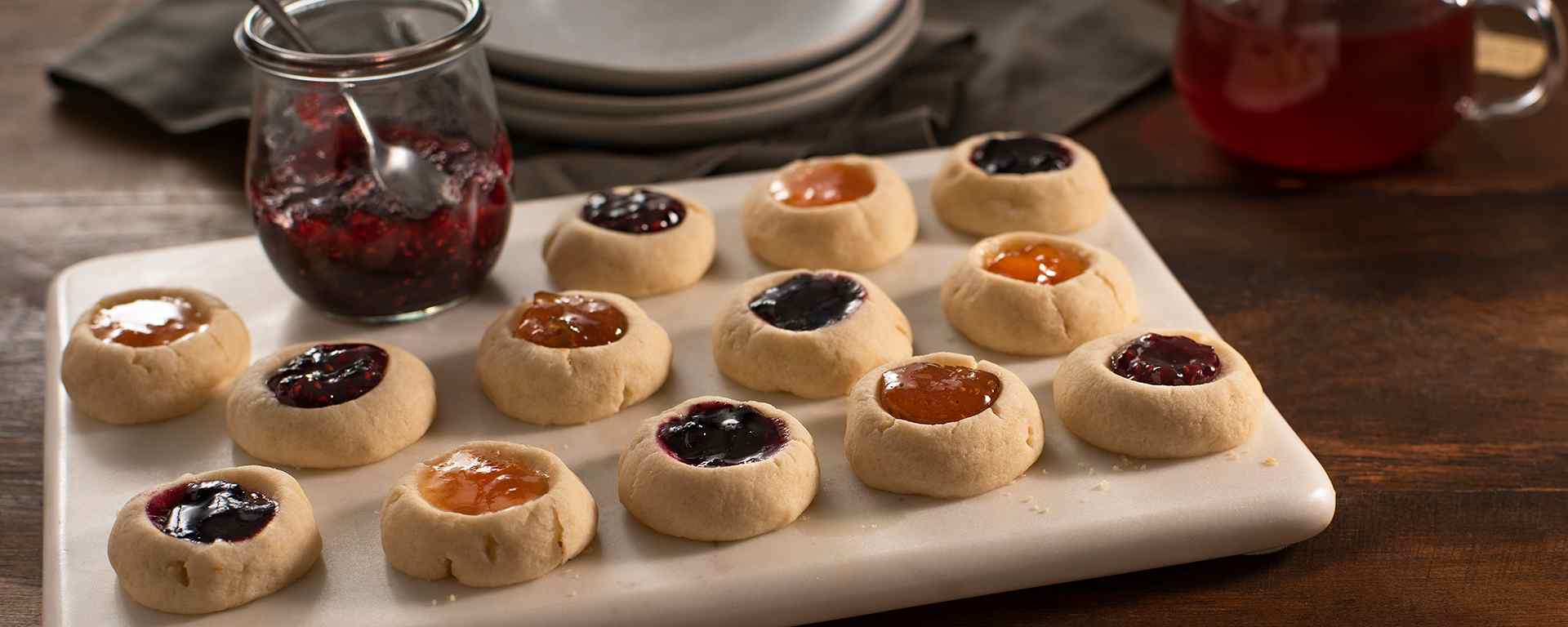 Photo for - Jam Thumbprint Cookie