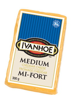 Photo of - IVANHOE Medium Cheddar Cheese