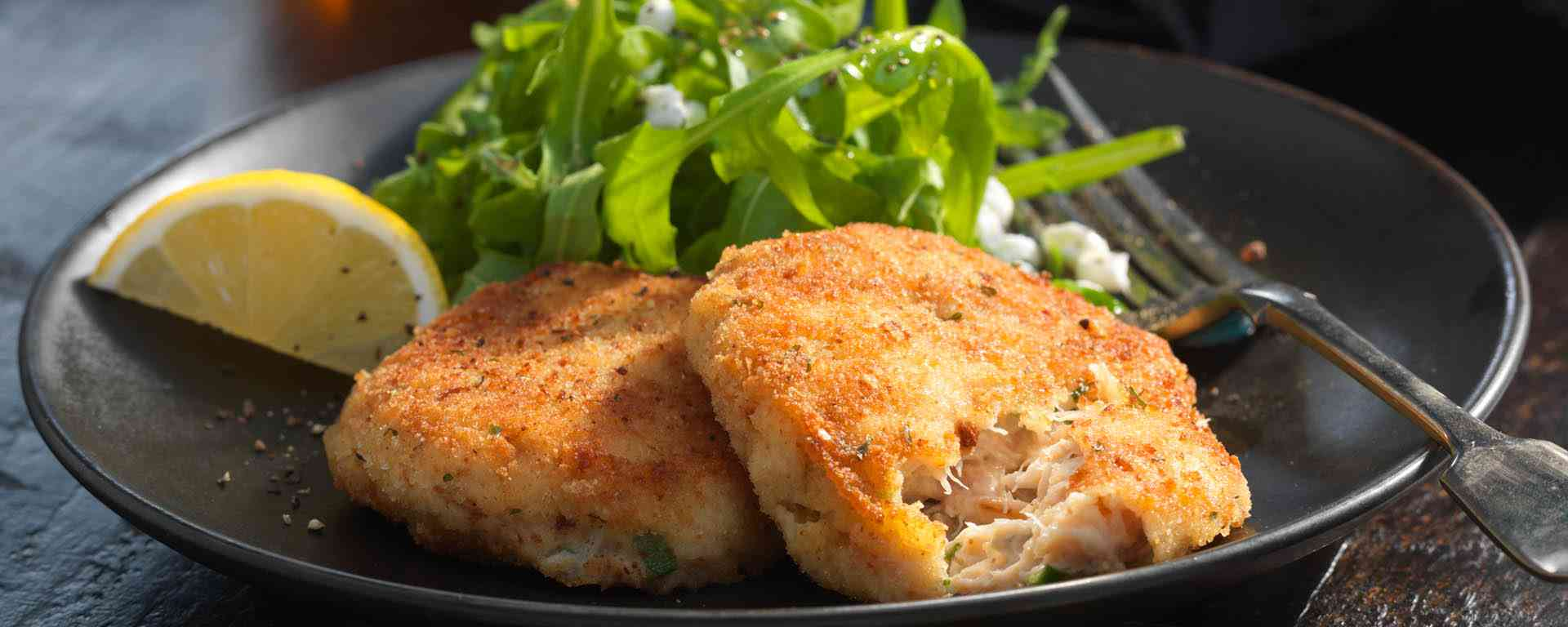 Photo for - Goat Cheese Crab Cakes
