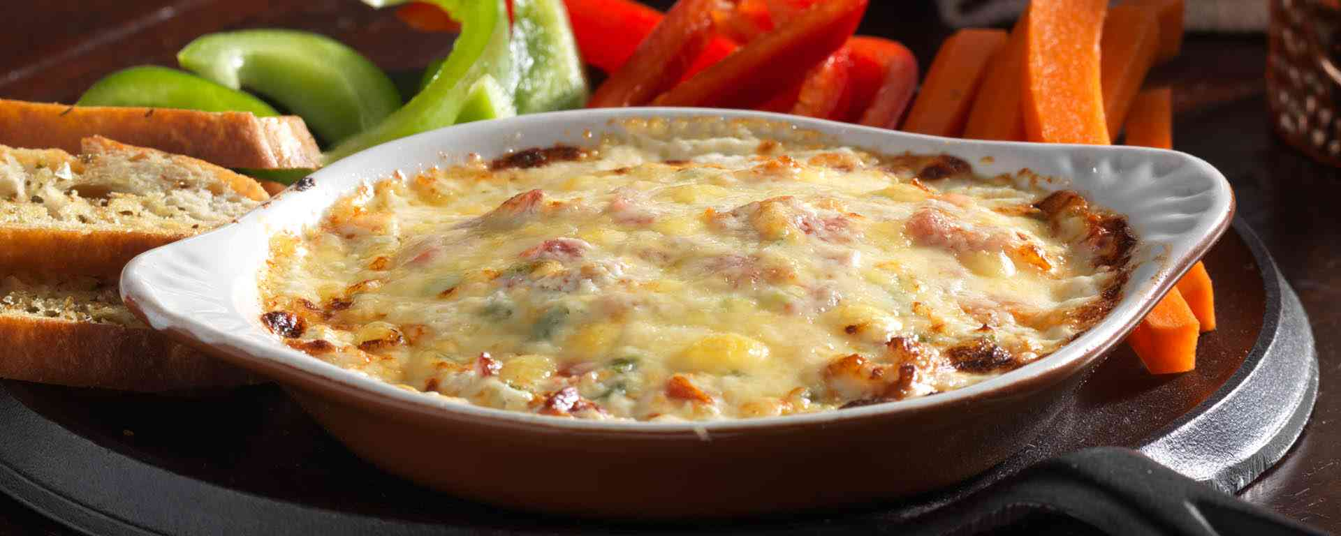 Photo for - Jalapeño and Bacon Goat Cheese Baked Dip