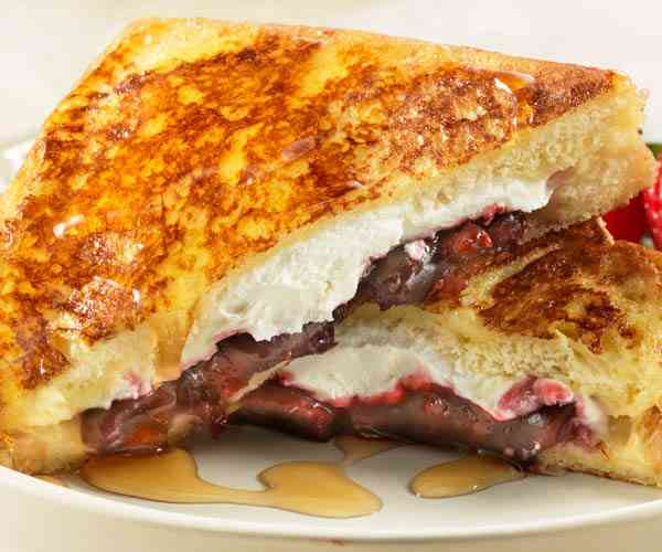 Photo of - French Toast Stuffed with Soft Goat Cheese