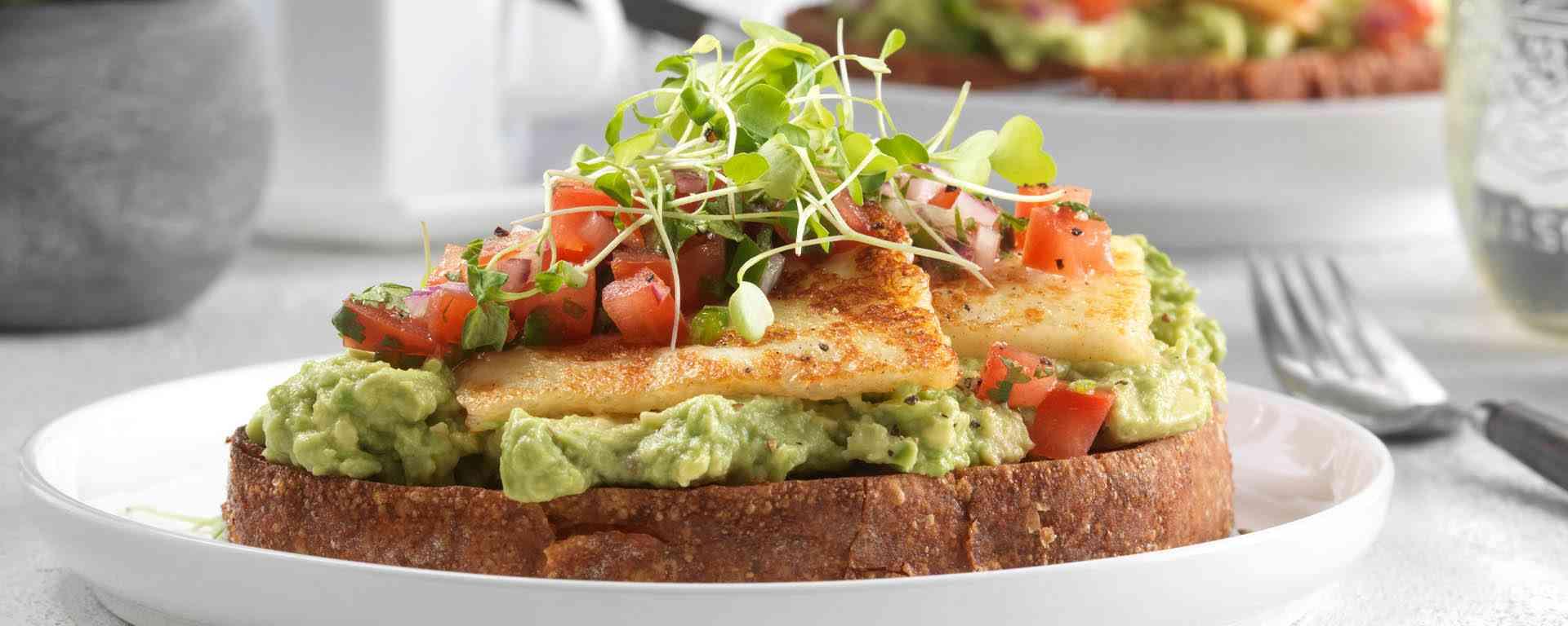 Photo for - Avocado and Halloumi Breakfast Sandwiches