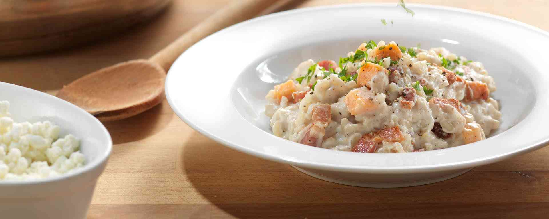 Photo for - Sweet Potato and Goat Cheese Risotto