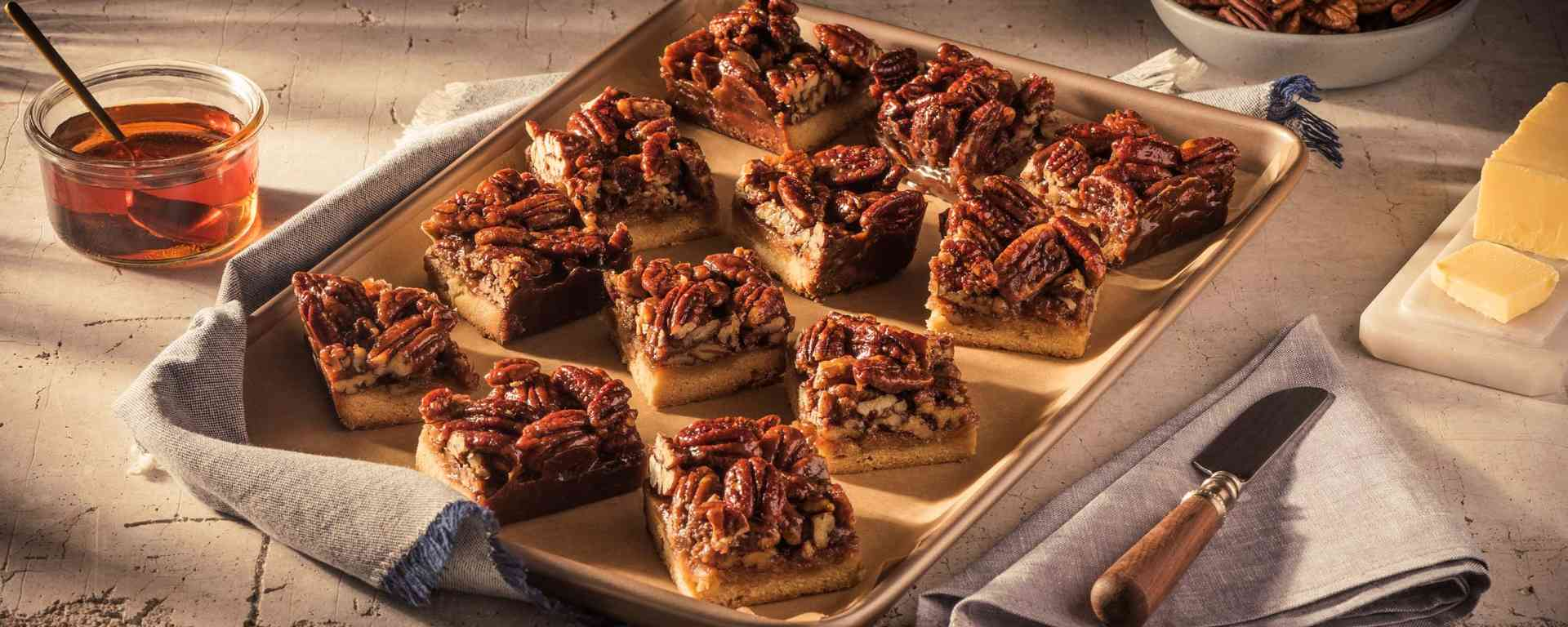 Photo for - Maple Bourbon Pecan Bars