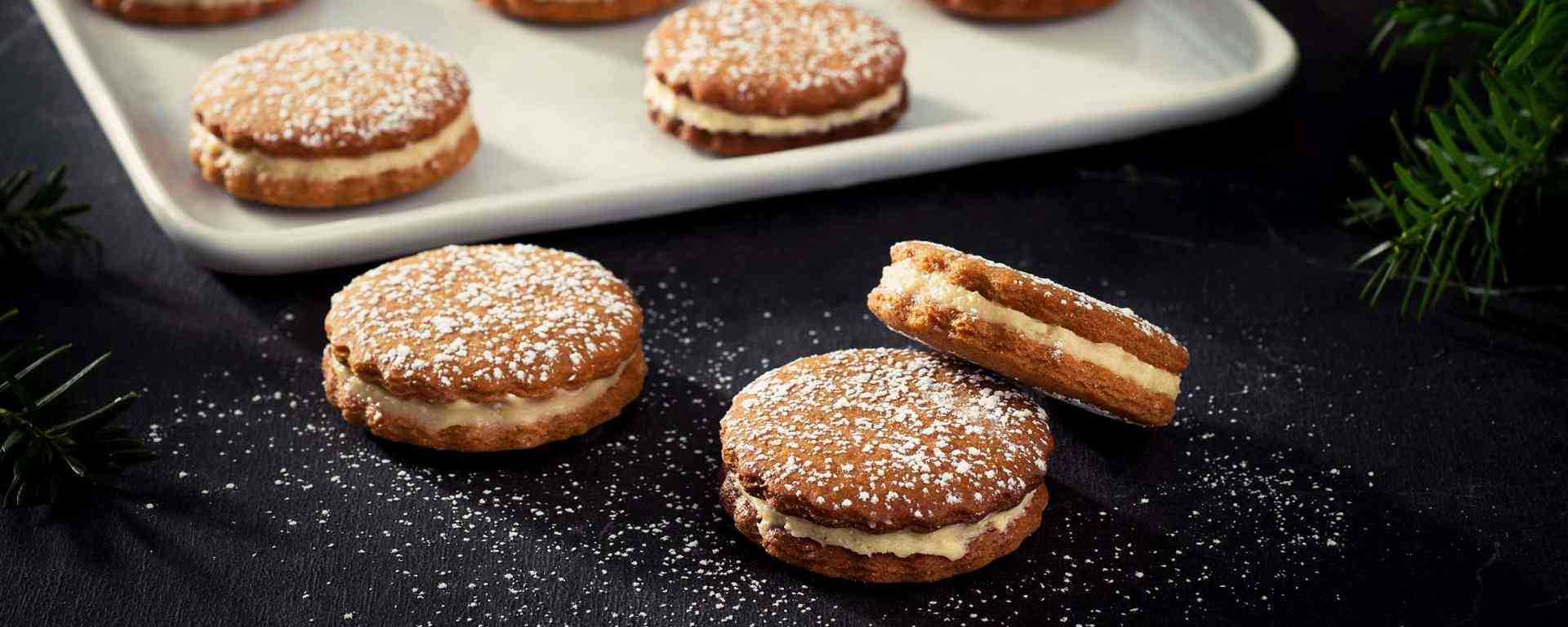 Photo for - Speculoos Sandwich Cookies