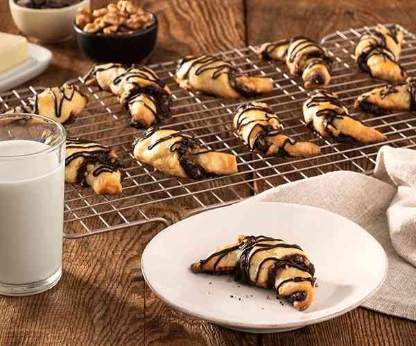 Photo of - Biscuits babka rugelach au chocolat