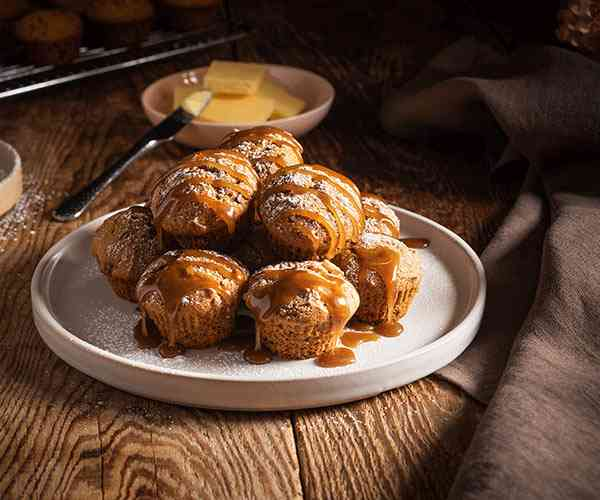 Photo of - Sticky Toffee Pudding Bites