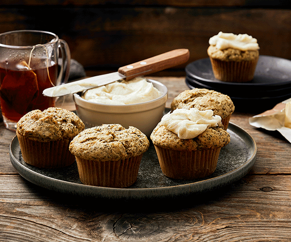 Photo of - Earl Grey London Fog Muffins