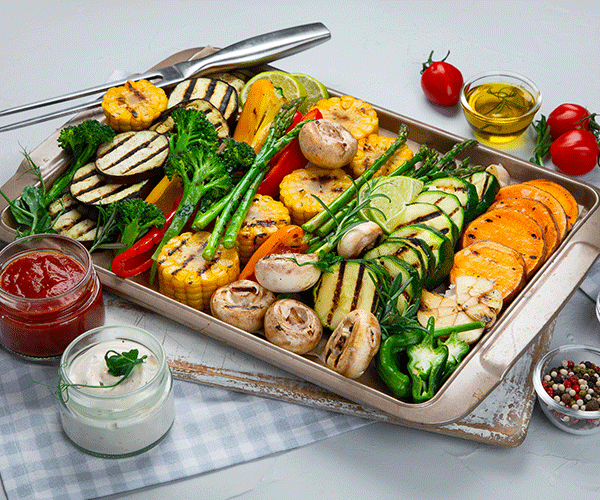Photo for - Smart swaps for healthy grilling